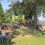 Shady Spots and Bouncy House